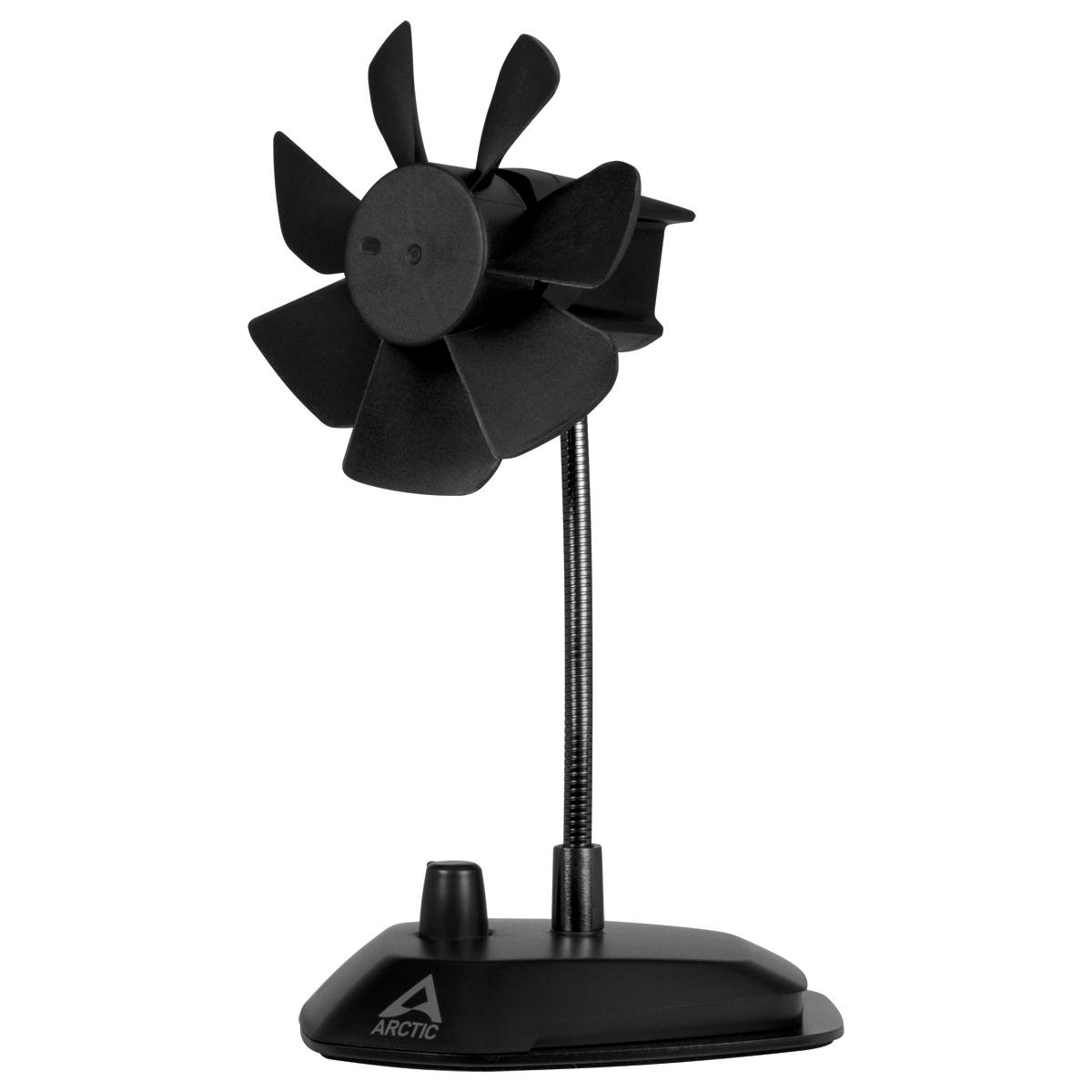 ARCTIC Breeze Color Edition BLACK - USB desktop fan - ABACO-BRZBK01-BL