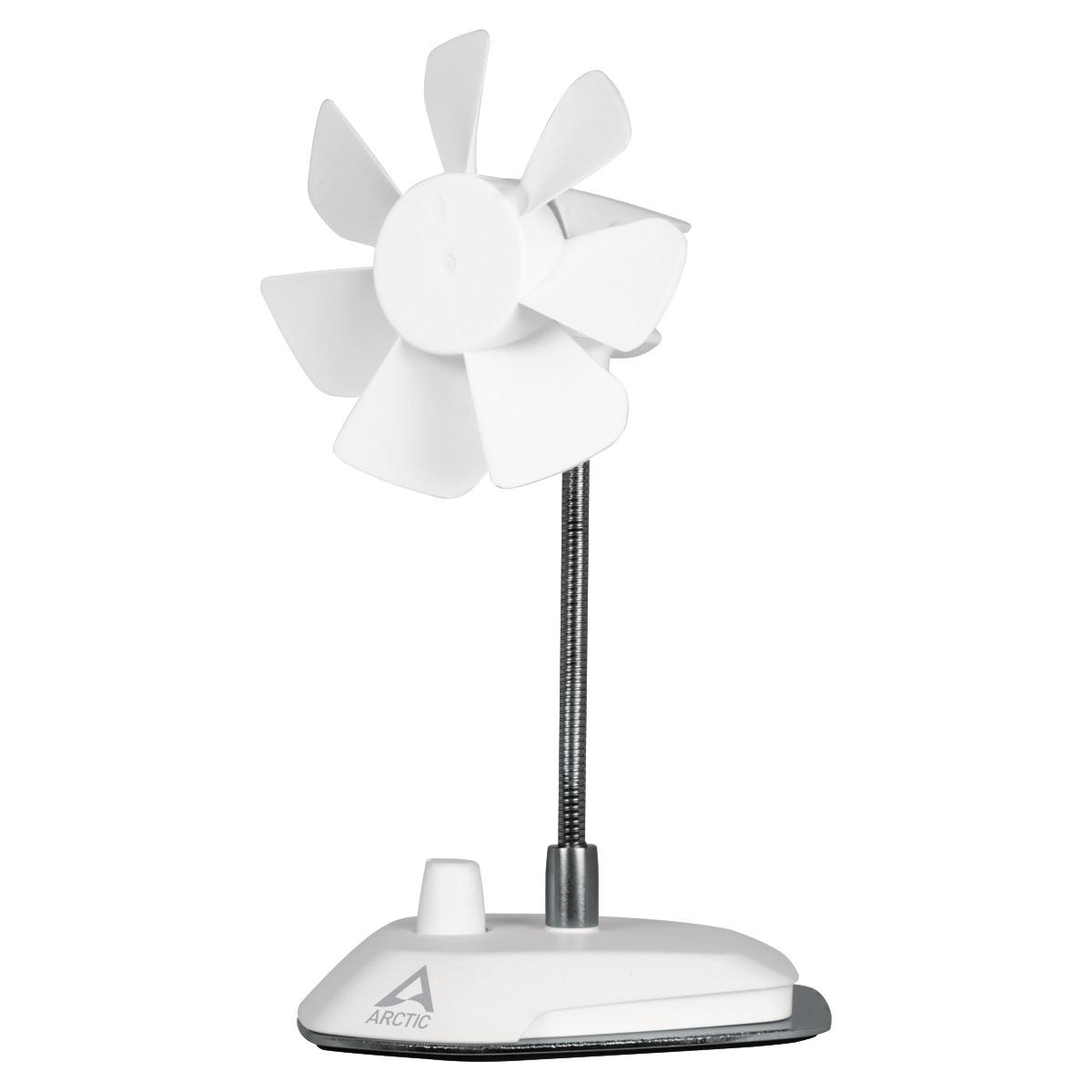 ARCTIC Breeze Color Edition WHITE - USB desktop fan - ABACO-BRZWH01-BL