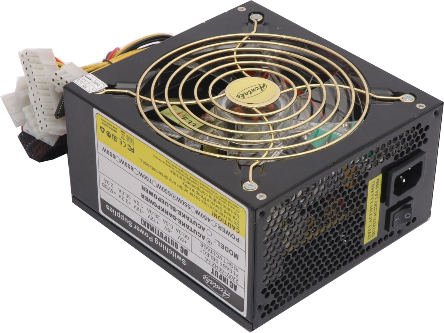 ACUTAKE ACU-DARKPOWER 650W PRO (140MM GIANT FAN)