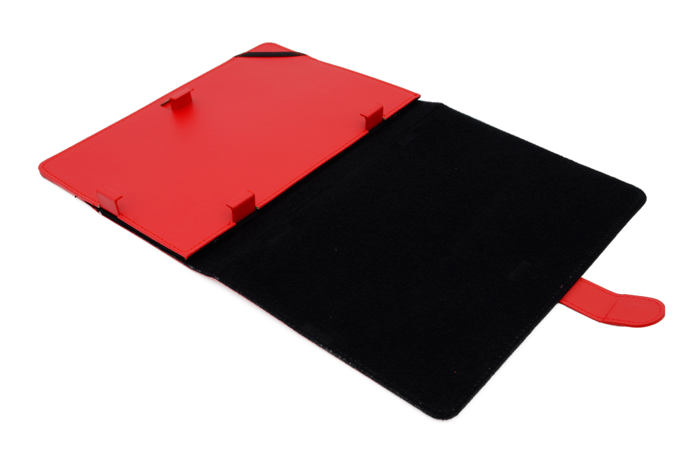 AIREN AiTab Leather Case 8 10'' RED - Leather Case 8 10R