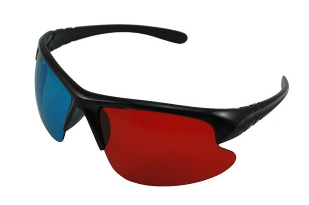 PRIMECOOLER PC-AD4 3D GLASS / 3D BRÝLE (red/blue sportovní) - PC-AD43DGLASS