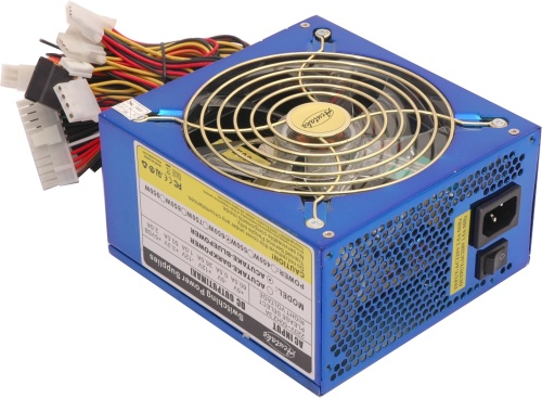 ACUTAKE ACU-BLUEPOWER 650W PRO (140MM BLUE LED GIANT FAN )