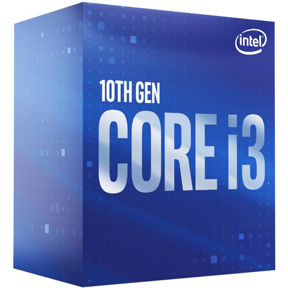 CPU Intel Core i3-10100 BOX (3.6GHz, LGA1200, VGA)