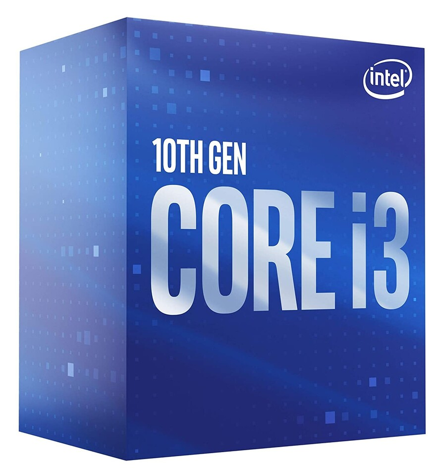 CPU Intel Core i3-10100F BOX (3.6GHz, LGA1200)