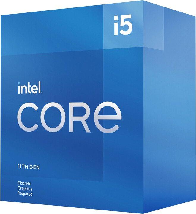 CPU Intel Core i5-11400F BOX (2.6GHz, LGA1200)
