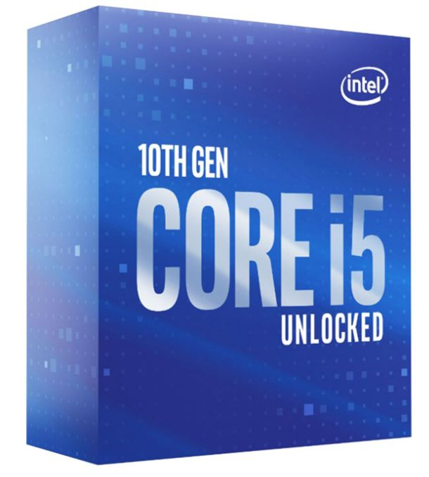 CPU Intel Core i5-10600K (4.1GHz, LGA1200, VGA)