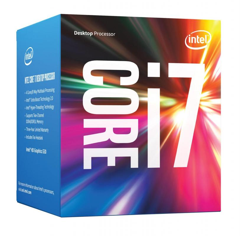 CPU INTEL Core i7-6700 (3.4GHz, LGA1151, VGA)