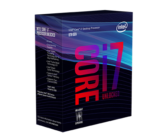 CPU Intel Core i7-8700K (3.7GHz, LGA1151, VGA)