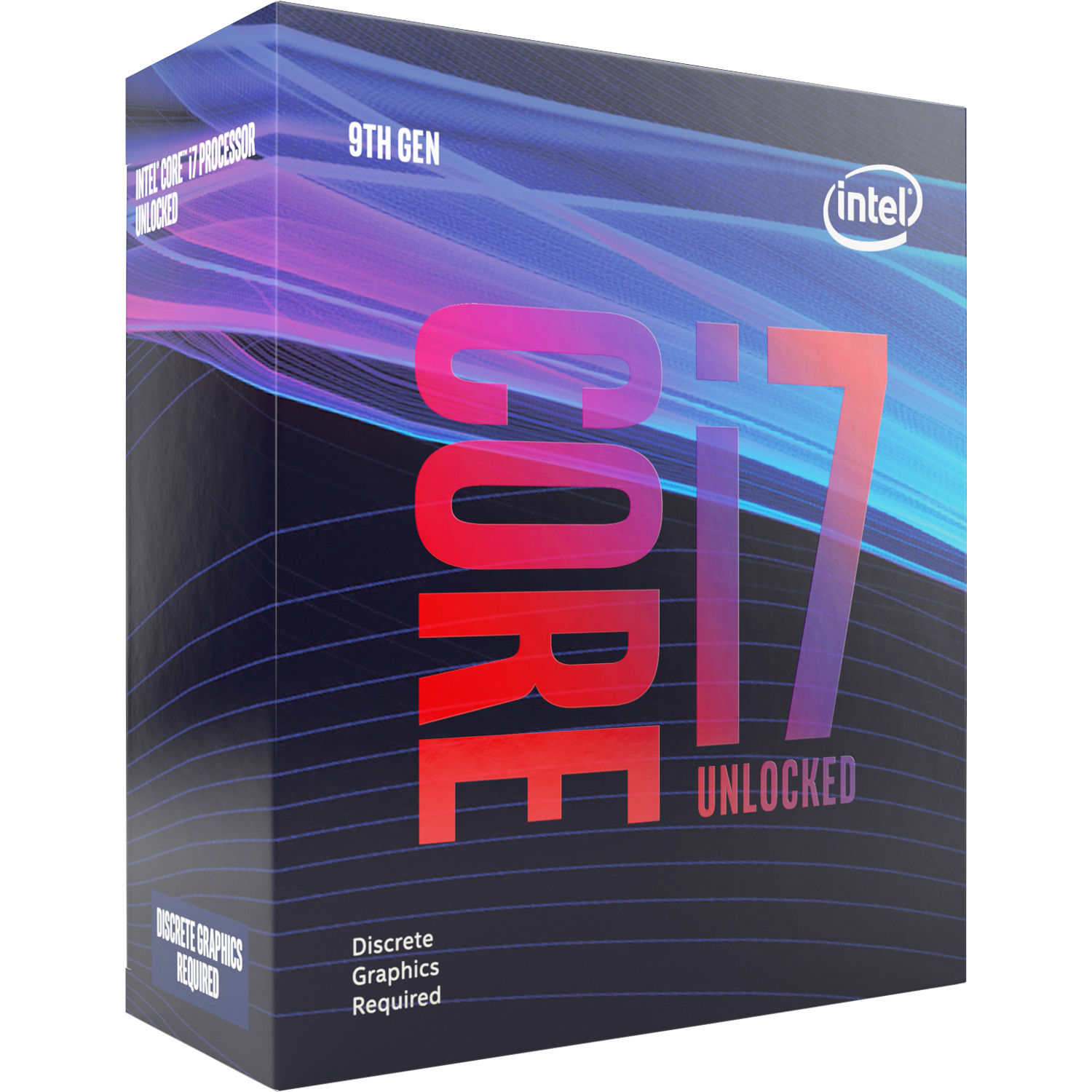 CPU Intel Core i7-9700KF (3.6GHz, LGA1151)