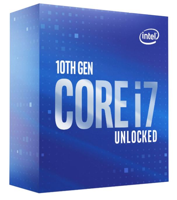CPU Intel Core i7-10700K (3.8GHz, LGA1200, VGA)