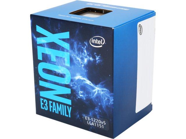 CPU Intel Xeon E3-1220 v5 (3.0GHz, LGA1151, 8MB)