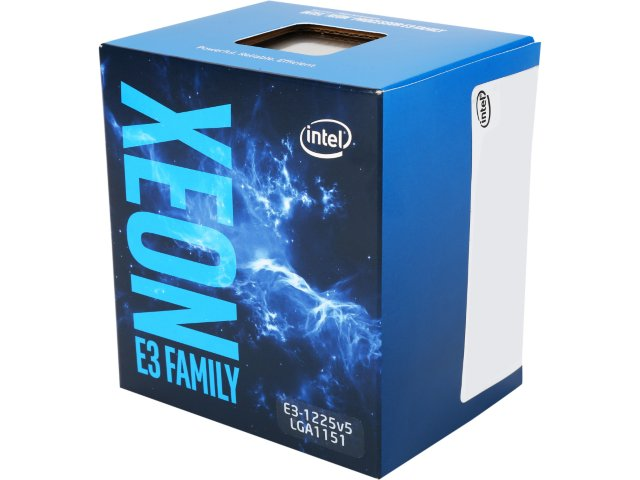 CPU Intel Xeon E3-1225 v5 (3.3GHz, LGA1151, VGA)