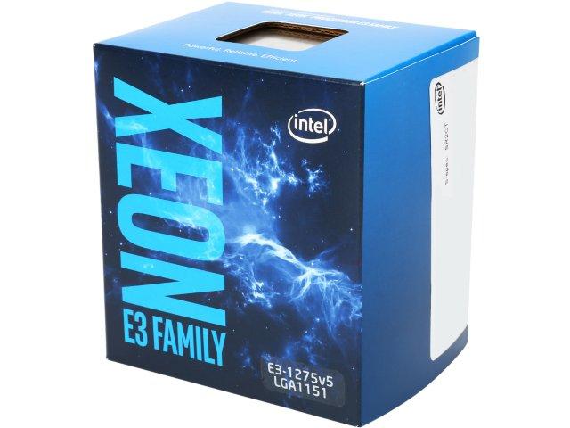 CPU Intel Xeon E3-1275 v5 (3.6GHz, LGA1151, VGA)