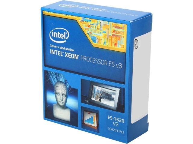 CPU Intel Xeon E5-1620 v3 (3.5GHz, LGA2011-3,10MB)