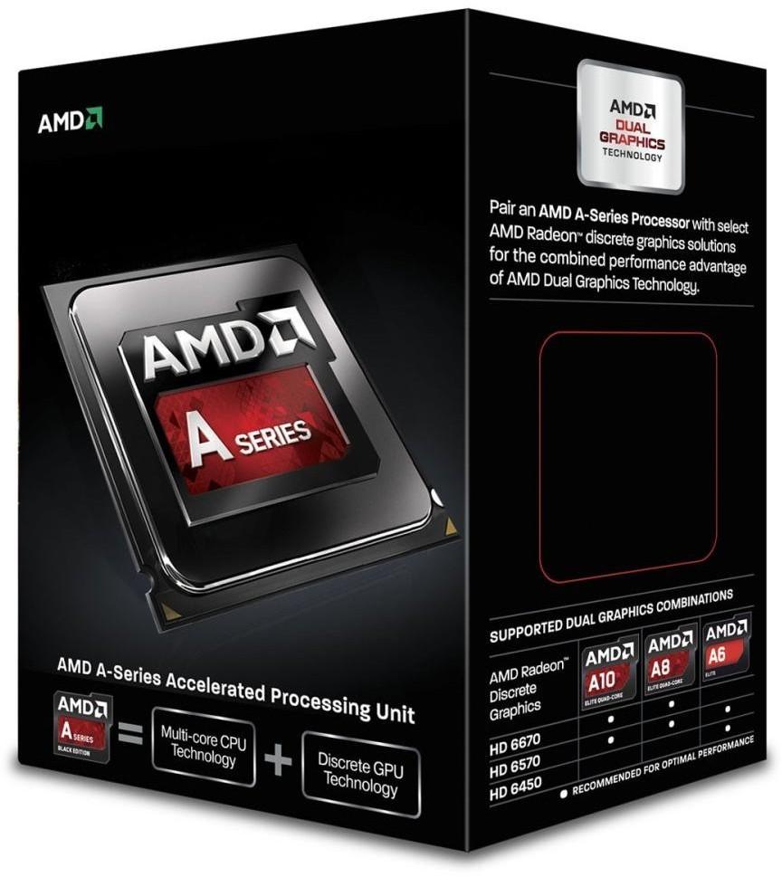 CPU AMD Richland A4-7300 2c Box (3,8Ghz, 1MB)