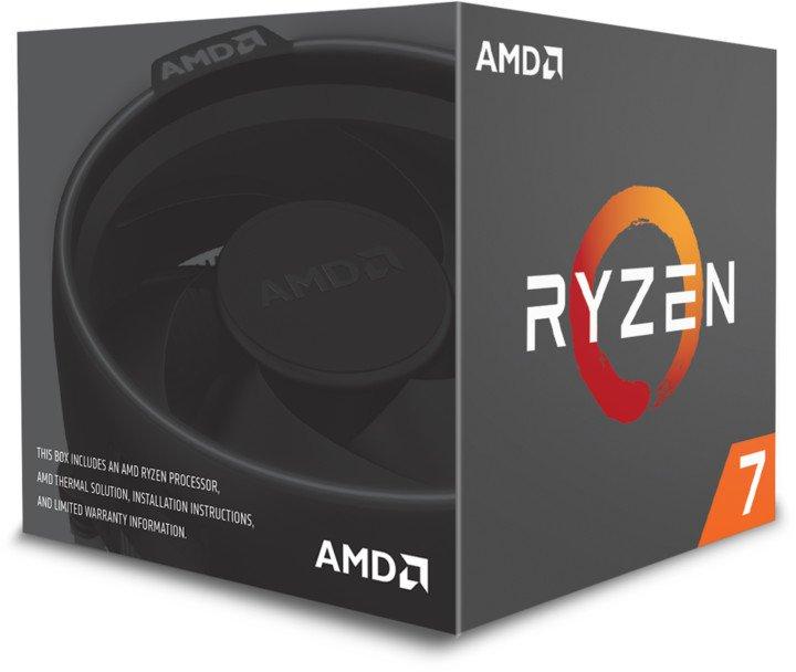 CPU AMD Ryzen 7 2700 8core (3,2GHz) Wraith Spire