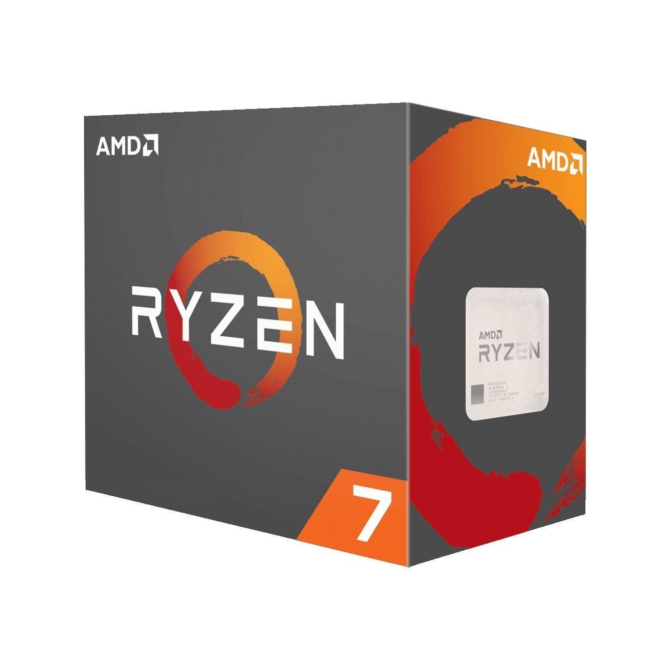 CPU AMD Ryzen 7 1700 8core (3,0GHz) Wraith Spire
