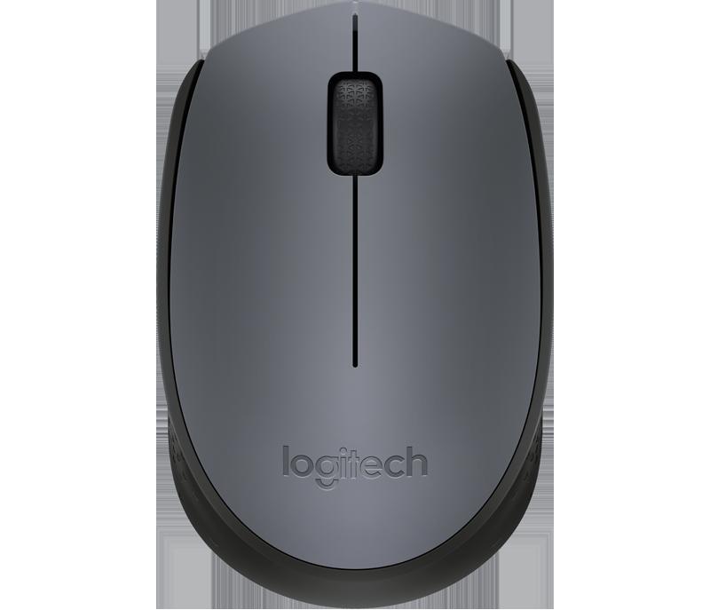 myš Logitech Wireless Mouse M170, šedá - 910-004642