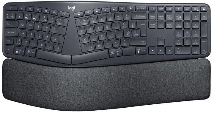Logitech Kl. Wireless Keyboard K860 Split US INT´L - 920-010108