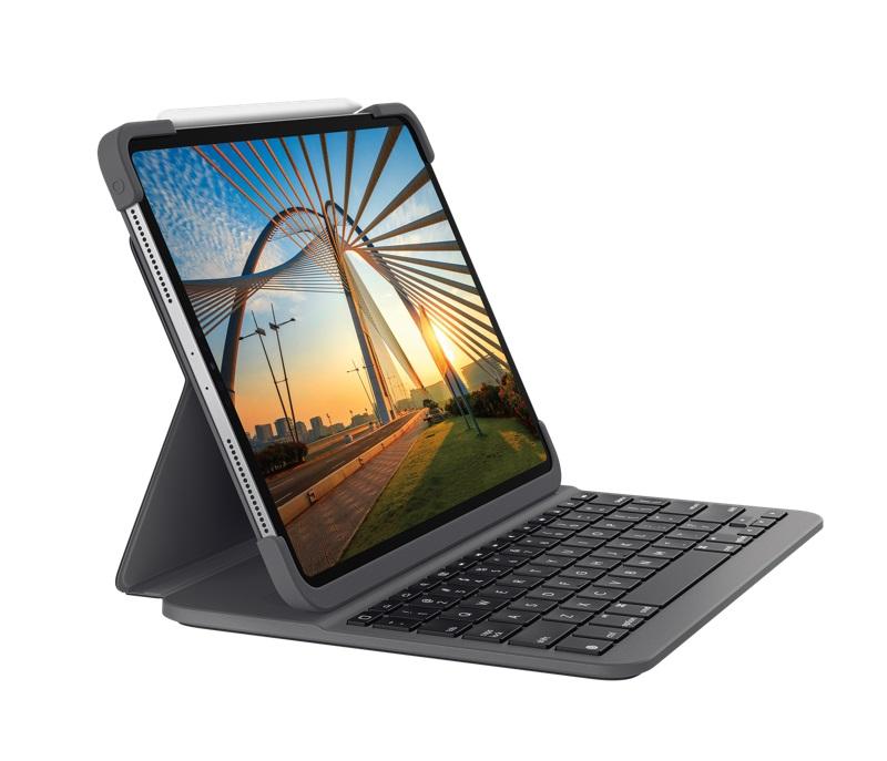 Logitech SLIM FOLIO PRO (pro iPad Pro 12,9 palce (3. a 4. gen.)) - 920-009710