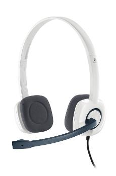 Náhlavní sada Logitech Stereo Headset H150, Coconut - 981-000350