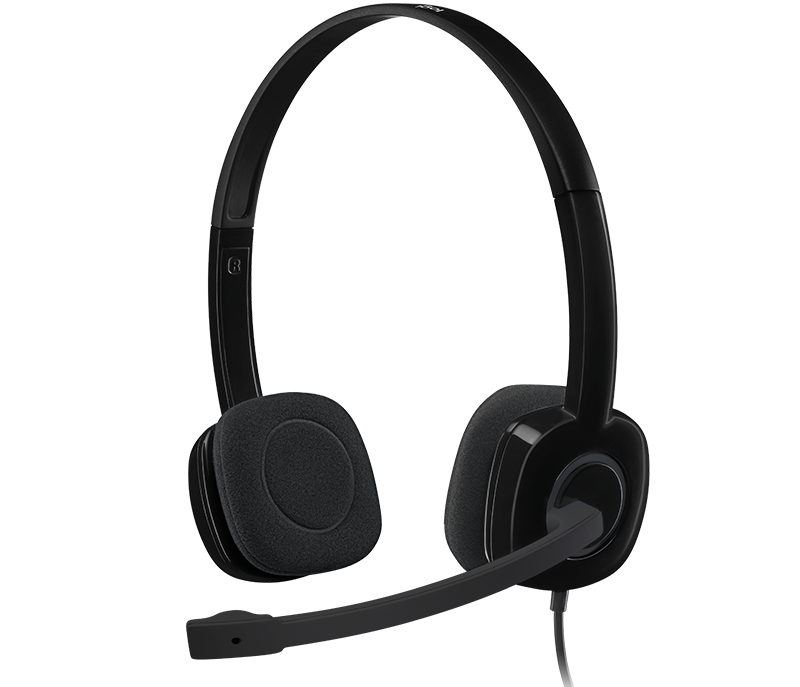 Náhl. sada Logitech stereo Headset H151 - 981-000589