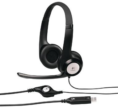 Náhlavní sada Logitech Stereo USB Headset H390 - 981-000406