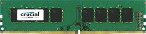 16GB DDR4-2400 MHz Crucial CL17 DRx8