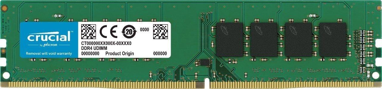 16GB DDR4 2666MHz Crucial CL19