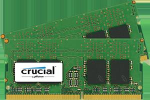 SO-DIMM kit 16GB DDR4 - 2400 MHz Crucial CL17 SR x8, 2x8GB