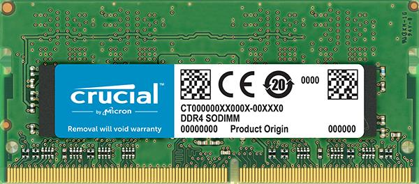 SO-DIMM 16GB DDR4 2666MHz Crucial CL19