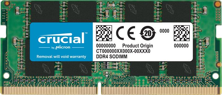SO-DIMM 16GB DDR4 2666MHz Crucial CL19 n - CT16G4SFRA266