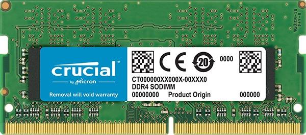 SO-DIMM 16GB DDR4 3200MHz Crucial CL22