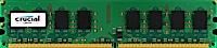 1GB DDR2-800 MHz Crucial CL6