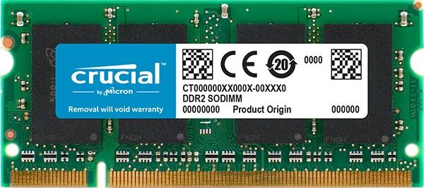 SO-DIMM 1GB DDR2-667 MHz Crucial CL5