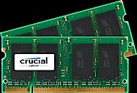 SO-DIMM kit 4GB DDR2-667 MHz Crucial CL5, 2x2GB