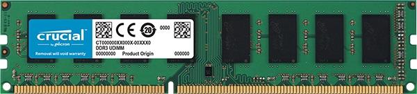 8GB DDR3L 1600MHz Crucial CL11 1.35V/1.5V