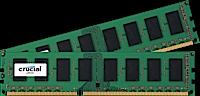 32GB DDR3L - 1600 MHz Crucial CL11 UDIMM kit 1.35V/1.5V, 2x16GB