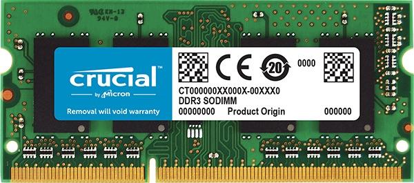 SO-DIMM 4GB DDR3L 1866MHz Crucial CL13 1.35V/1.5V