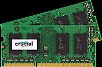 SO-DIMM kit 4GB DDR3L - 1600 MHz Crucial CL11 DR 1.35V/1.5V, 2x2GB