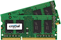 SO-DIMM 8GB DDR3L 1866MHz Crucial CL13 2x4GB