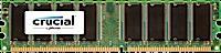 1GB DDR-333MHz Crucial CL2.5 UDIMM