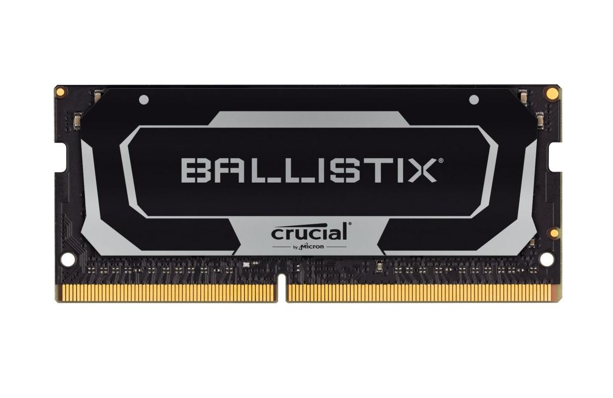 SO-DIMM 32GB DDR4 2666MHz Crucial Ballistix CL16 2x16GB Black - BL2K16G26C16S4B