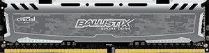 16GB DDR4 2400MHz Crucial Ballistix Sport LT CL16 DR Grey
