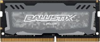 SO-DIMM 16GB DDR4 2666MHz Crucial Ballistix Sport LT CL16 Grey
