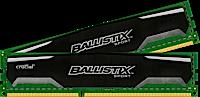 8GB kit DDR3 - 1600 MHz Crucial Ballistix Sport CL9 SR UDIMM 1.5V, 2x4GB