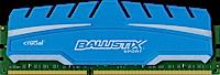 4GB DDR3 - 1600 MHz Crucial Ballistix Sport XT CL9 UDIMM 1.5V