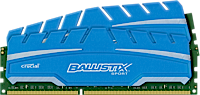 8GB DDR3 - 1866 MHz Crucial Ballistix Sport XT CL10 SR UDIMM 1.5V, 2x4GB