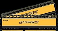 8GB kit DDR3 - 1866 MHz Crucial Ballistix Tactical CL9 UDIMM 1,5V, 2x4GB