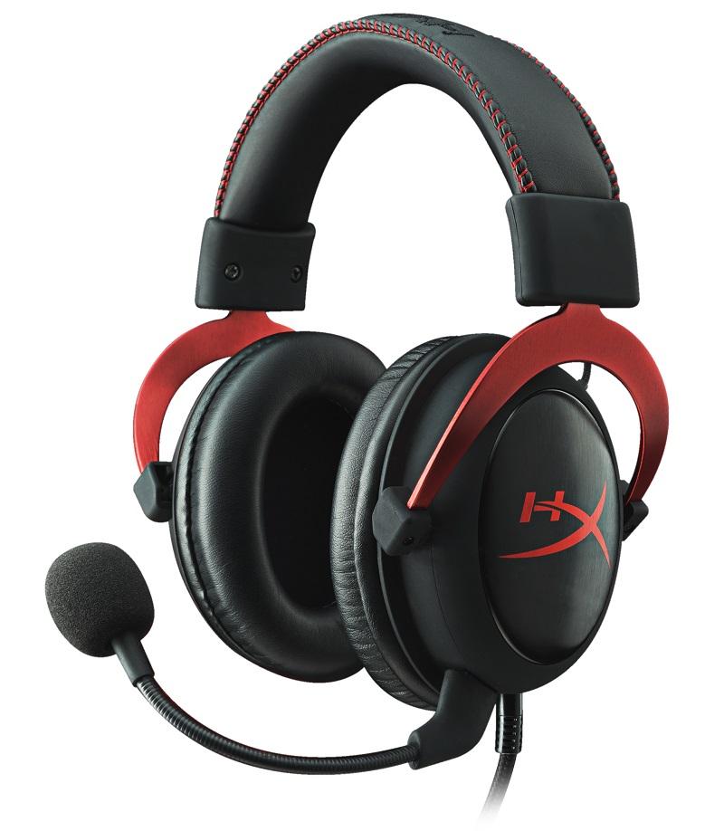 HyperX Cloud II - Pro herní headset červený - KHX-HSCP-RD